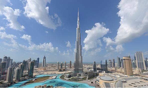 Dünyanın En Yüksek Binası Burj Halife