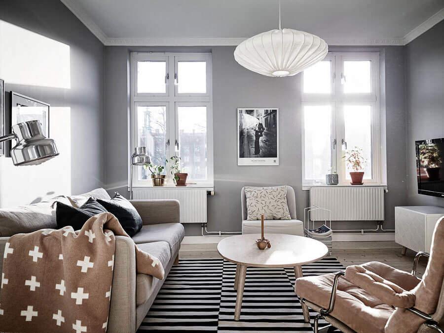 Çakıl Taşı Rengi Ev Dekorasyonu