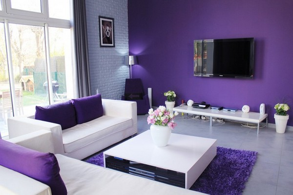Mürdüm Rengi En İyi Ev Dekorasyonu Önerileri
